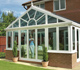 Gabled conservatory
